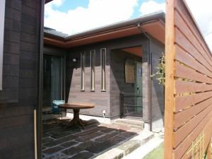 オープンハウス中庭1