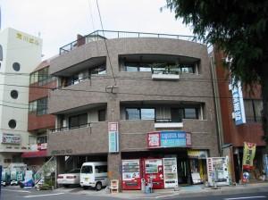 1階に店舗がある個人住宅