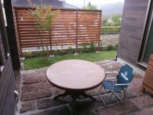 オープンハウス中庭2